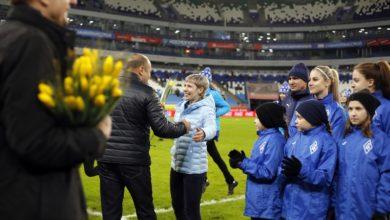 Photo of Женская команда представлена болельщикам на «Самара Арене»