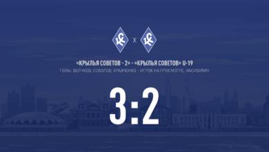 Photo of «Крылья Советов – 2» победили в товарищеском матче